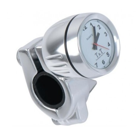 Přídavné analogové hodinky Moto Detail pro 22-25mm řidítka