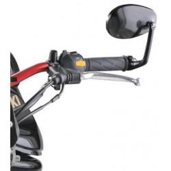 Zrcátko moto Caffe racer oval