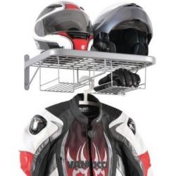Věšák na helmy a oblečení