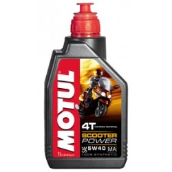 Olej Motul scooter power 4T 5W40 - 1L