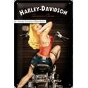 Retro cedule Harley Davidson American classic