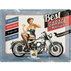 Retro cedule Best Garage For Motorcycles