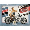 Retro cedule 30x40 cm - Best Garage For Motorcycles