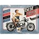 Retro cedule 30x40 cm - Best Garage For Motorcycles