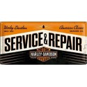 Plechová cedule - Harley Davidson Service Repair