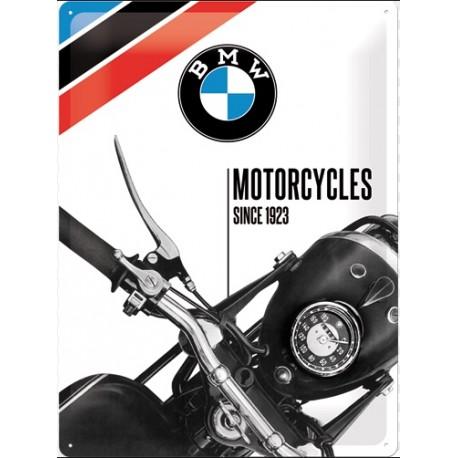 Plechová cedule - BMW Motorcycles Since 1923