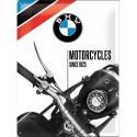 Plechová cedule - BMW Motorcycles Since 1923 30x40 cm