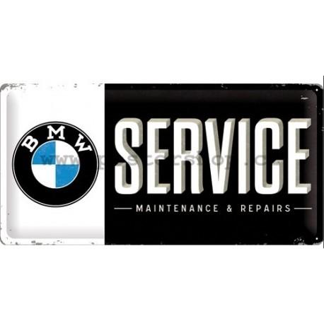Plechová cedule - BMW Service