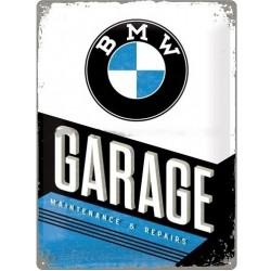 Plechová cedule - BMW Garage