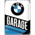 Plechová cedule - BMW Garage 30x40 cm
