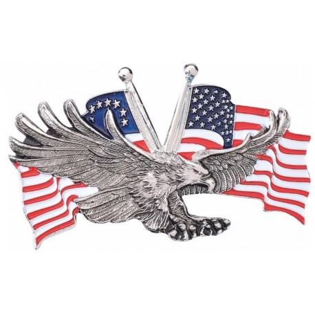 Emblém samolepící - americká vlajka