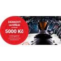 Dárkový certifikát MTT Brno na nákup zboží v hodnotě 5000 Kč