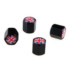 Čepičky ventilků Anglická vlajka