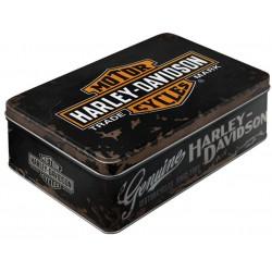 Plechová dóza - Harley Davidson Genuine